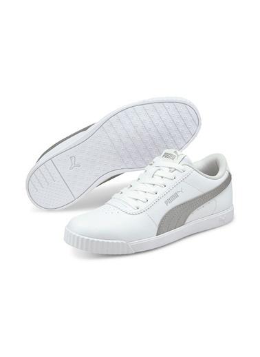 Puma Kadın Beyaz Carina Slim SL Sneakers 37054814015 Beyaz